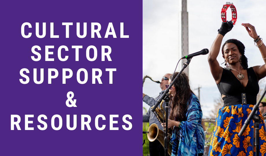 Cultural Sector Support & Resources