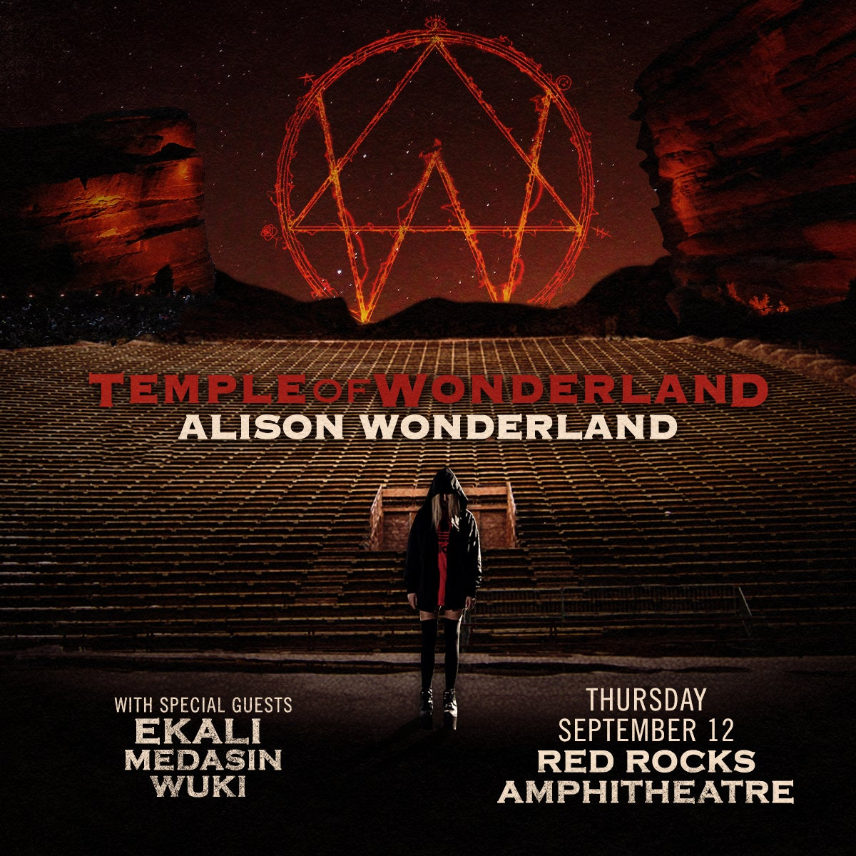 Alison Wonderland Red Rocks Entertainment Concerts