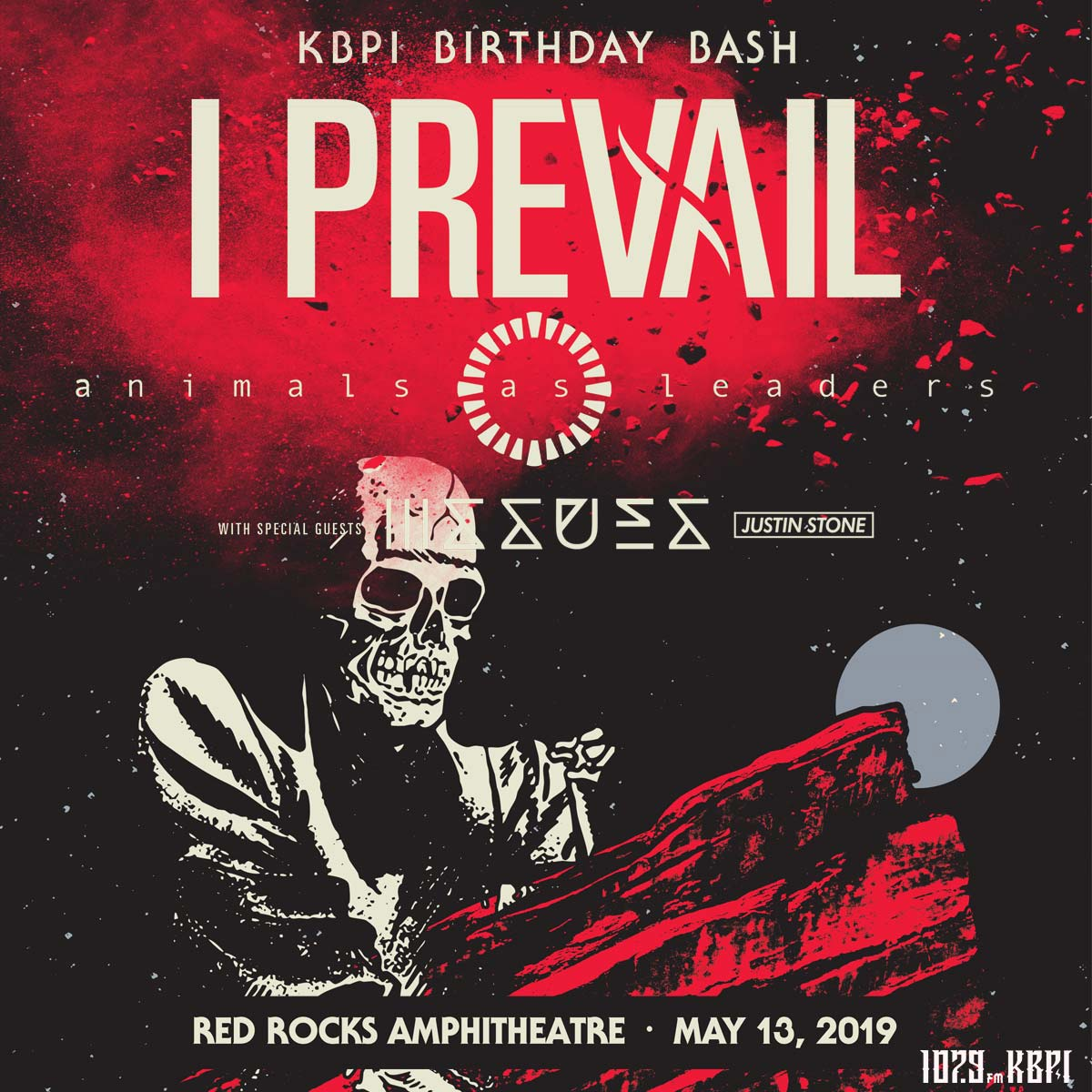 Image for I Prevail : 107.9 KBPI Birthday Bash 2019
