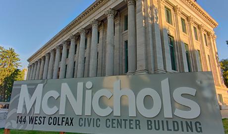 McNichols Building is open!