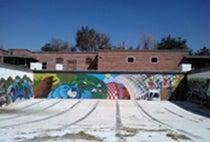 PHO-YMCA Outdoor Pool Mural-artist Gerald Hamel.jpg